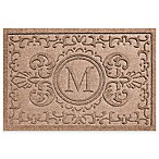 Weather Guard™ Baroque 23-Inch x 35-Inch Door Mat in Medium Brown