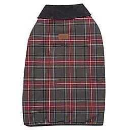 Pendleton® Woolen Mills Stewart Plaid Extra Large Dog Coat in Grey