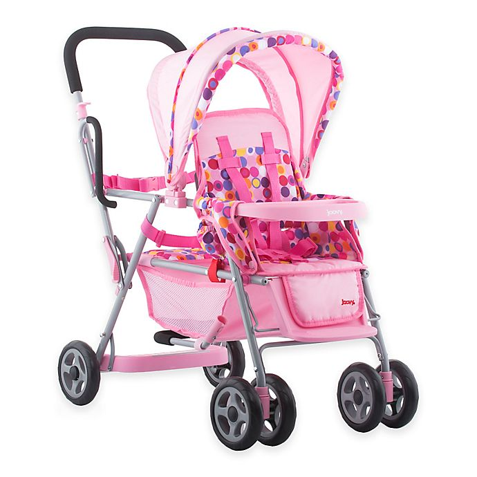 Alternate image 1 for Joovy® Toy Caboose Stroller in Pink