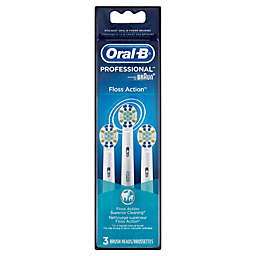 Oral-B® FlossAction Replacement Brush Heads (3-Pack)