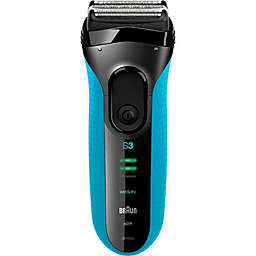 Braun Series 3 3040 Wet & Dry Men's Electric Shaver in Blue