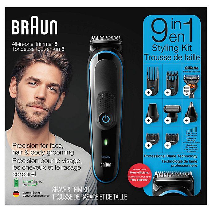 Alternate image 1 for Braun 9-in-1 Beard Trimmer