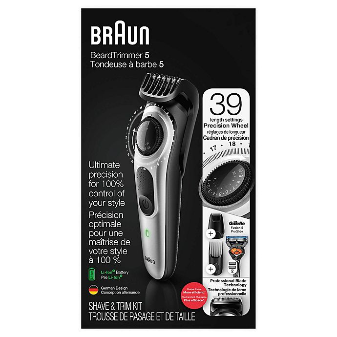 Alternate image 1 for Braun Beard Trimmer and Hair Clipper