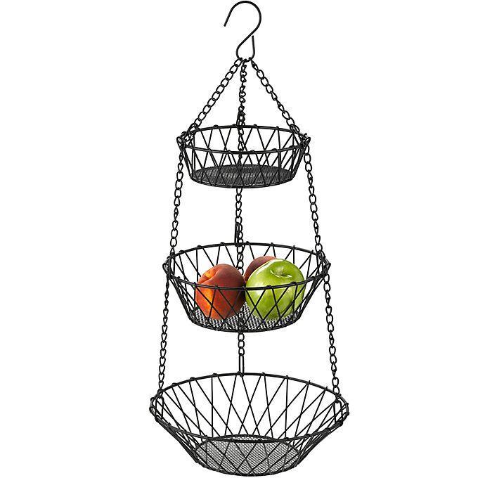 Alternate image 1 for New American 3-Tier Hanging Basket