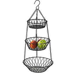 New American 3-Tier Hanging Basket