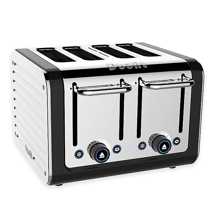 Alternate image 1 for Dualit® 4-Slice Design Series Toaster in Black
