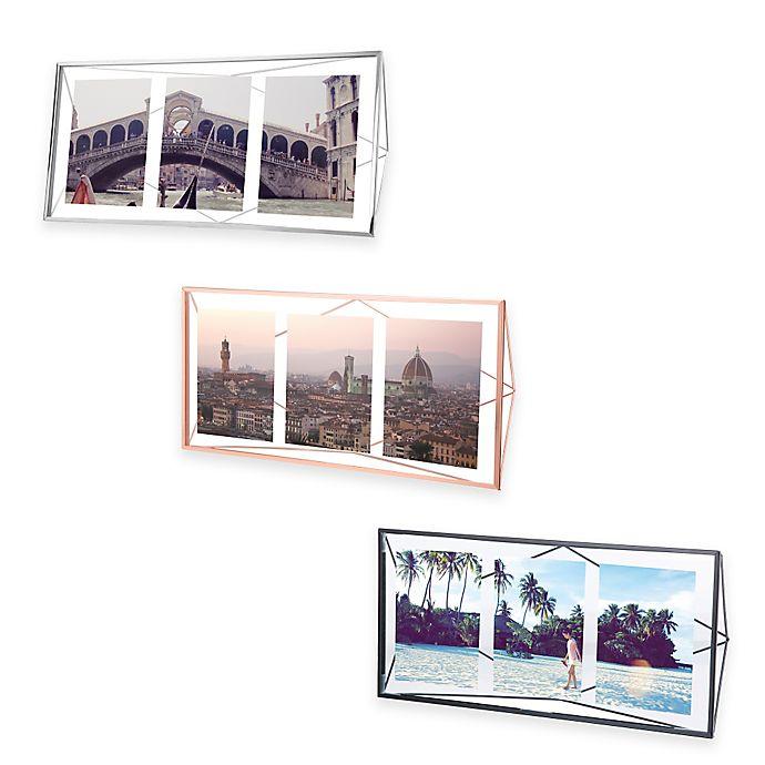 Alternate image 1 for Umbra® Prisma 3-Opening Picture Frame