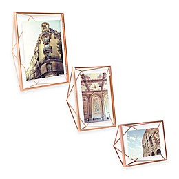 Umbra® Prisma Photo Frame in Copper