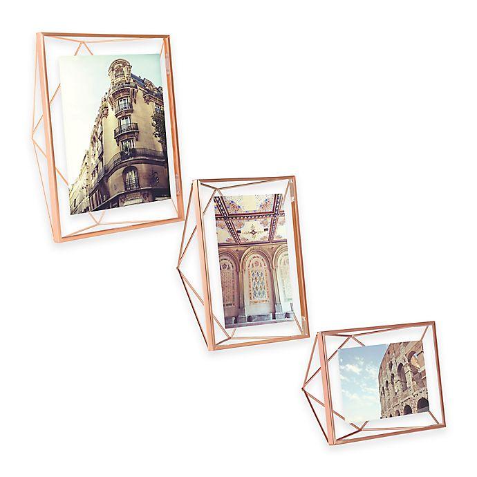Umbra® Prisma Photo Frame in Copper | Bed Bath & Beyond