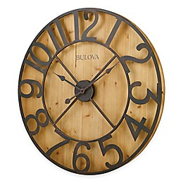 Bulova Silhouette 18-Inch Wall Clock