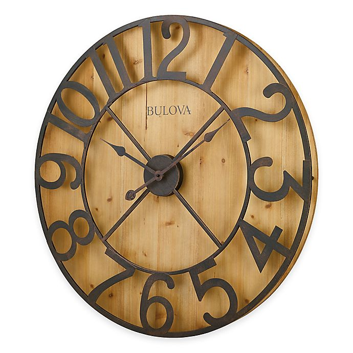 Alternate image 1 for Bulova Silhouette Wall Clock