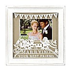 Malden® 4-Inch x 6-Inch  Marrying Your Best Friend  Photo Frame in White