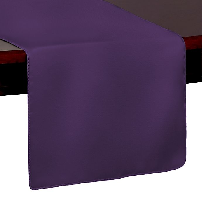 Alternate image 1 for Duchess 54-Inch Table Runner in Plum