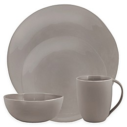 Artisanal Kitchen Supply® Curve Dinnerware Collection in Grey