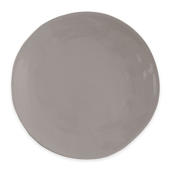 Alternate image 1 for Artisanal Kitchen Supply® Curve Dinner Plate in Grey