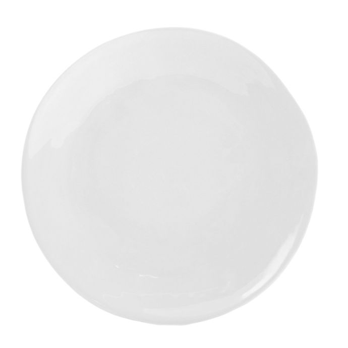 Alternate image 1 for Artisanal Kitchen Supply® Curve Dinner Plate in White