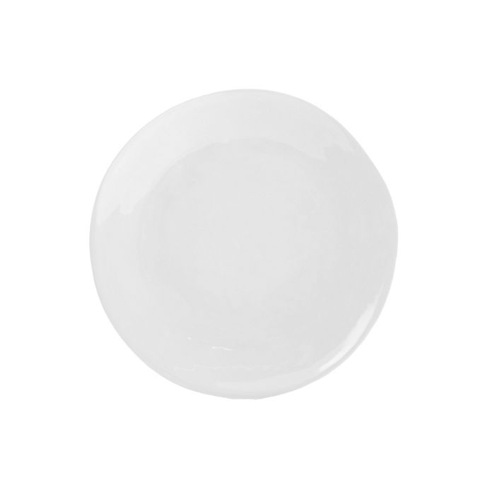 Alternate image 1 for Artisanal Kitchen Supply® Curve Salad Plate in White