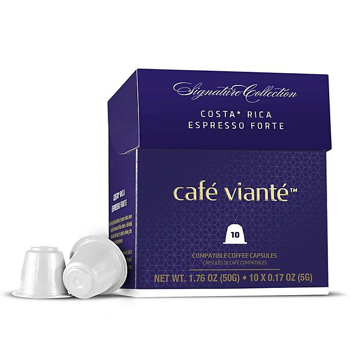 Alternate image 1 for Café Vianté® 10-Count Costa Rica Espresso Capsules