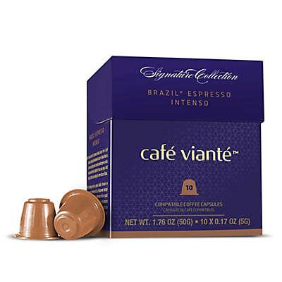 Café Vianté® 10-Count Brazil Intenso Espresso Capsules