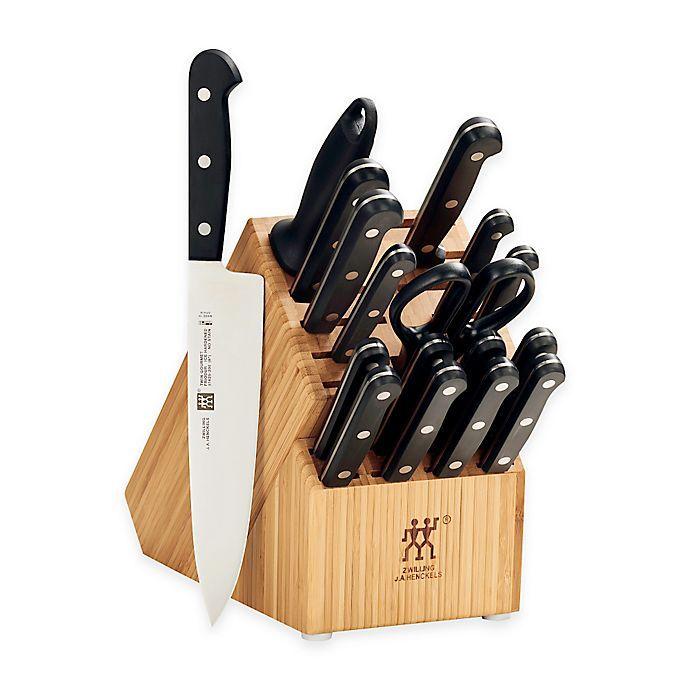Alternate image 1 for Zwilling J.A. Henckels Gourmet 18-Piece Knife Block Set