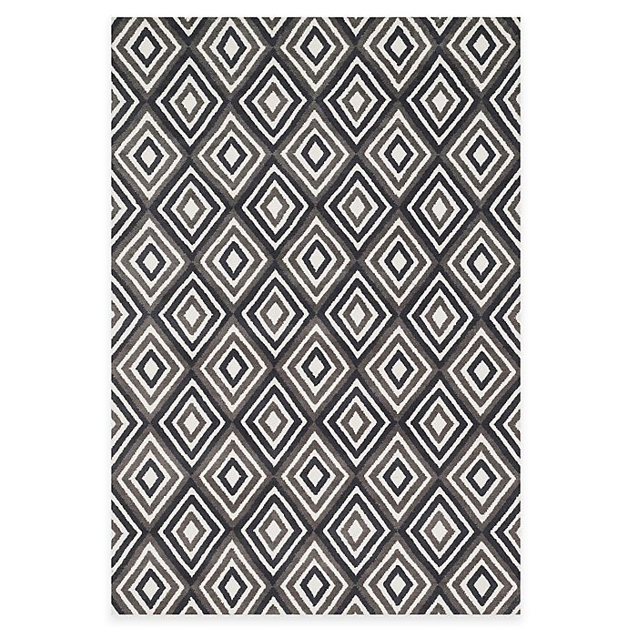 Alternate image 1 for Loloi Rugs Cassidy Diamonds Rug in Grey