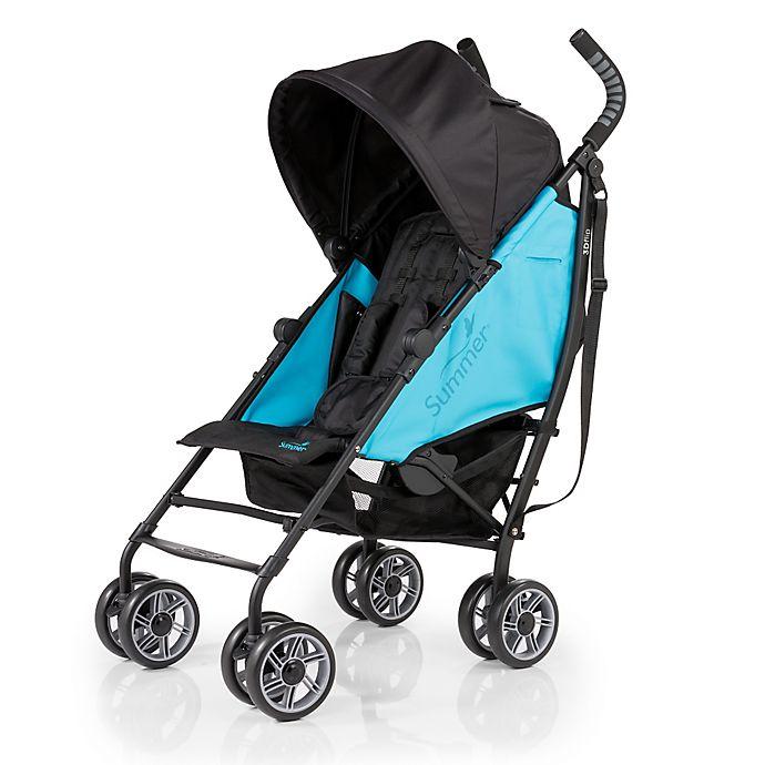 Alternate image 1 for Summer Infant® 3D Flip Convenience Stroller in Now & Then Teal