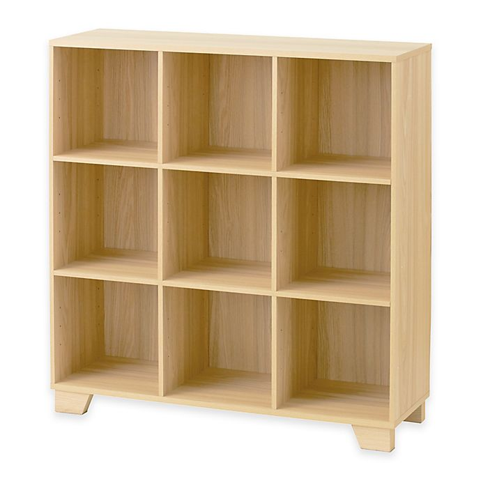 9 Cube Storage Unit In Natural