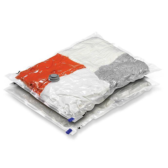 Alternate image 1 for Honey-Can-Do® 2-Pack Medium Vacuum Bags
