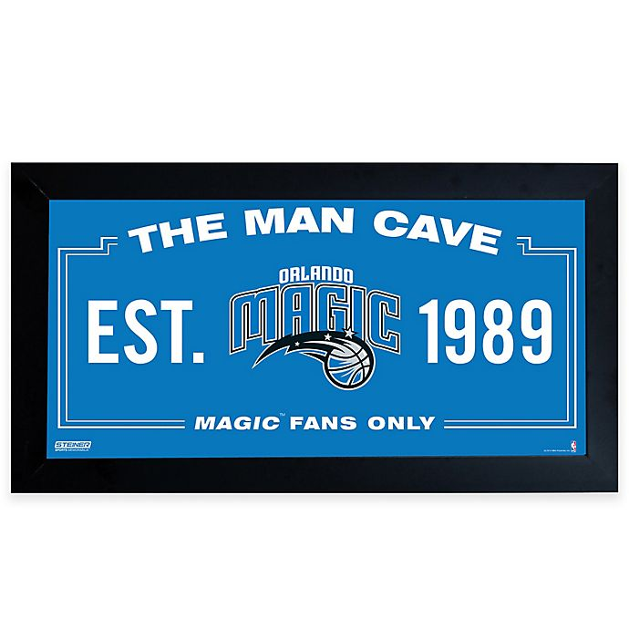 the best attitude 34c75 4e260 NBA Orlando Magic Man Cave Sign | Bed Bath & Beyond