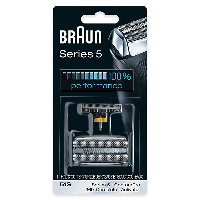 Alternate image 1 for Braun® Series 5 590cc Men's Shaver Replacement Foil and Cutter