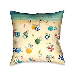 Laural Home® Summer Fun Square Throw Pillow