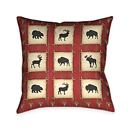 Laural Home® Red Lodge Square Throw Pillow
