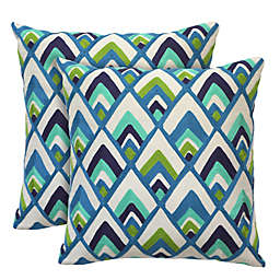 Colorfly™ Sylvester Peacock Throw Pillow (Set of 2)