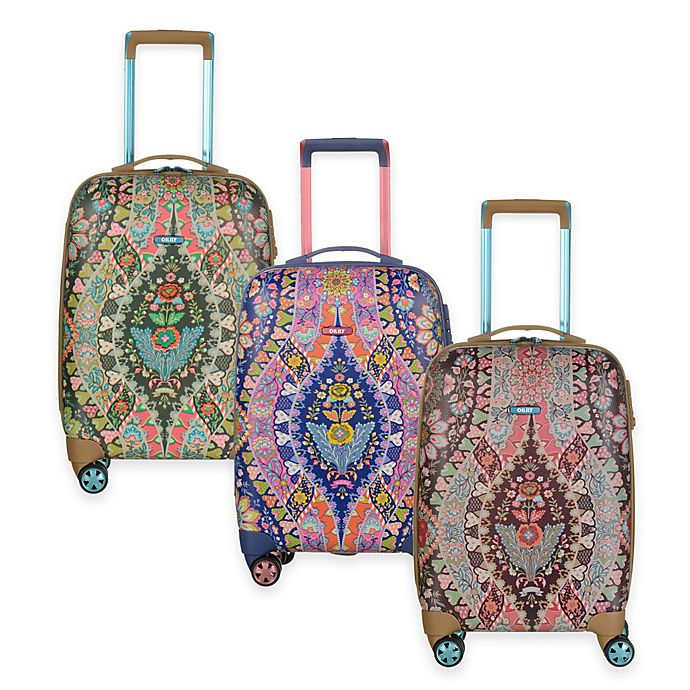 Oilily® Travel 19-Inch Carry On Trolley Suitcase   Bed Bath   Beyond 5242114d9a