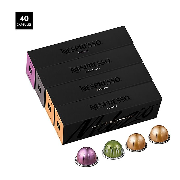 Alternate image 1 for Nespresso® VertuoLine 40-Count Assorted Medium Roast Coffee Capsules