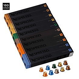 Nespresso® OriginalLine 100-Count Assorted Medium Roast Pack Coffee Capsules