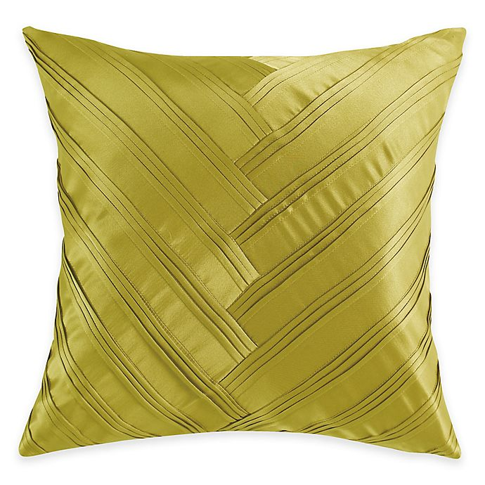 Vince Camuto 174 Basel Signature V Square Throw Pillow In