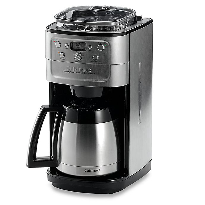Alternate image 1 for Cuisinart® Grind & Brew Thermal™ 12-Cup Automatic Coffee Maker