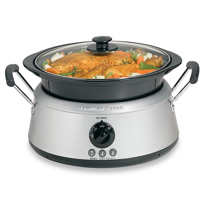 Hamilton Beach 3 In 1 Slow Cooker Bed Bath Beyond