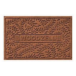 Weather Guard™ Boxwood 23-Inch x 35-Inch Door Mat in Dark Brown