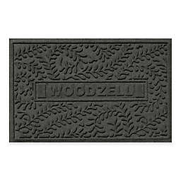 Weather Guard™ Boxwood 23-Inch x 35-Inch Door Mat in Charcoal