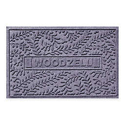 Weather Guard™ Boxwood 23-Inch x 35-Inch Door Mat in Blue Stone