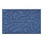 Weather Guard™ Boxwood 23-Inch x 35-Inch Door Mat in Navy