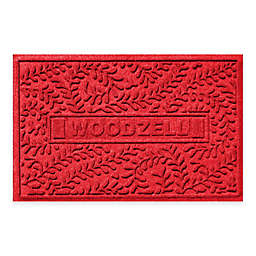 Weather Guard™ Boxwood 23-Inch x 35-Inch Door Mat in Red