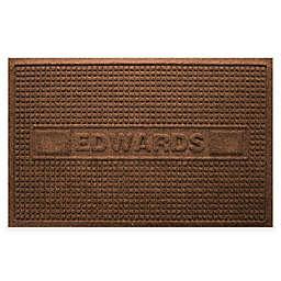 Weather Guard™ Squares 23-Inch x 36-Inch Door Mat in Dark Brown