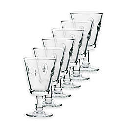 La Rochère Fleur de Lys Wine Glasses (Set of 6)