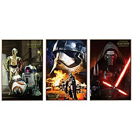Star Wars™ Episode VII Wall Décor Plaques