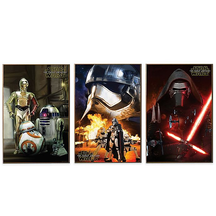 Alternate image 1 for Star Wars™ Episode VII Wall Décor Plaques
