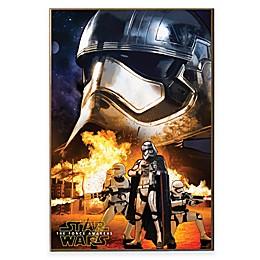 Star Wars™ Episode VII Storm Trooper Poster Wall Décor Plaque