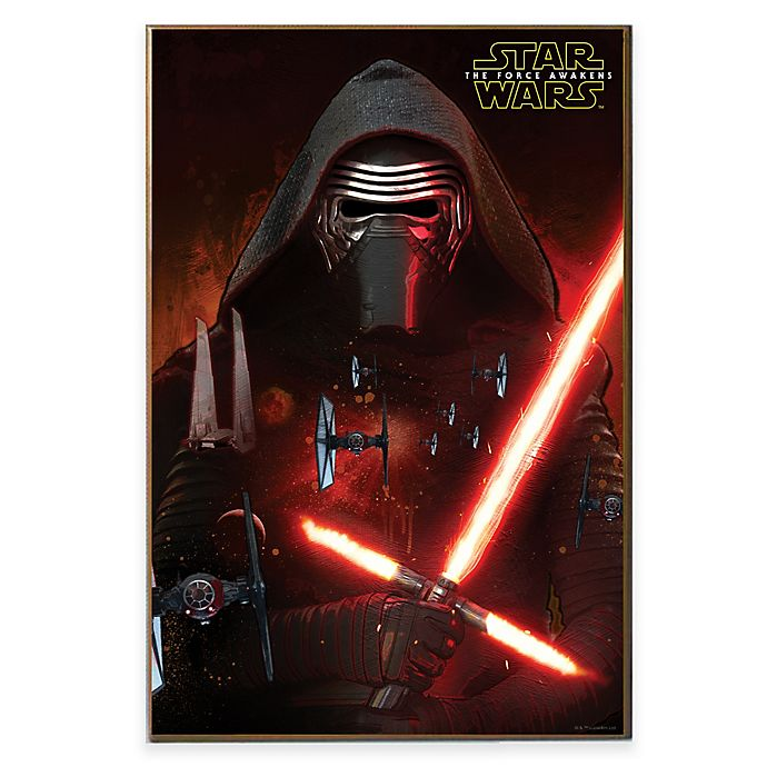 Alternate image 1 for Star Wars™ Episode VII Kylo Ren Poster Wall Décor Plaque